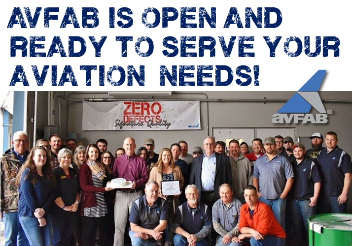 We are OPEN to serve your aviation needs!