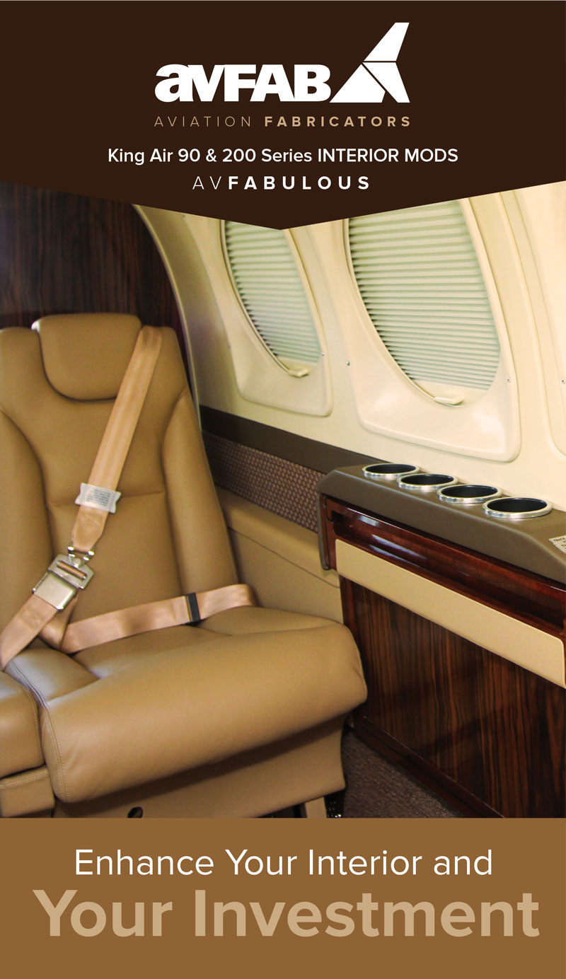 AvFabulous King Air Interior Upgrades