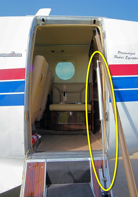 King Air Cabin Door Damper Overhaul
