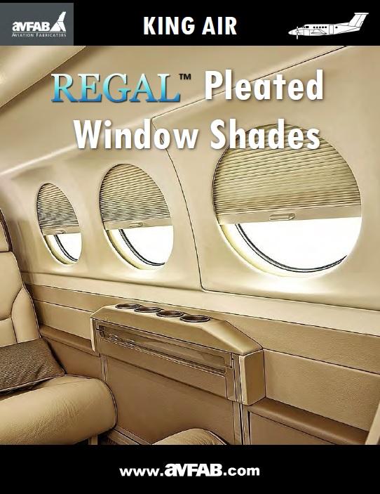 Regal Pleated Window Shades