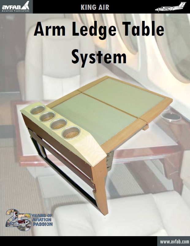 Arm Ledge Table System Catalog