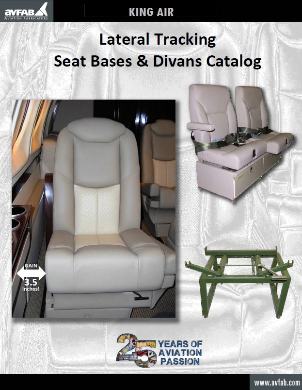 Lateral Tracking Seat Base Catalog