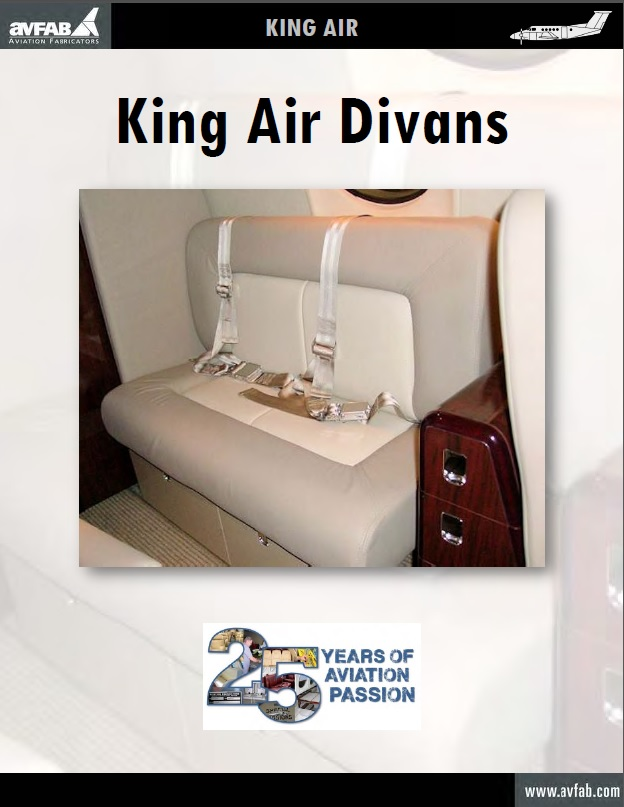 King Air Divans Catalog