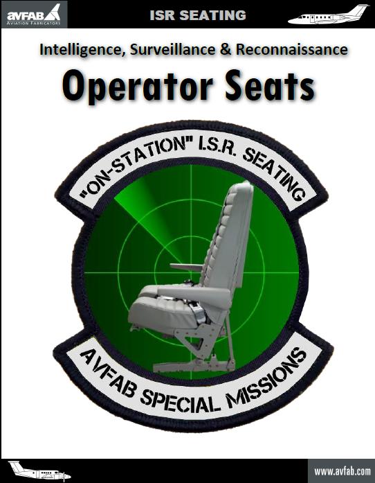ISR Operator Seat Catalog
