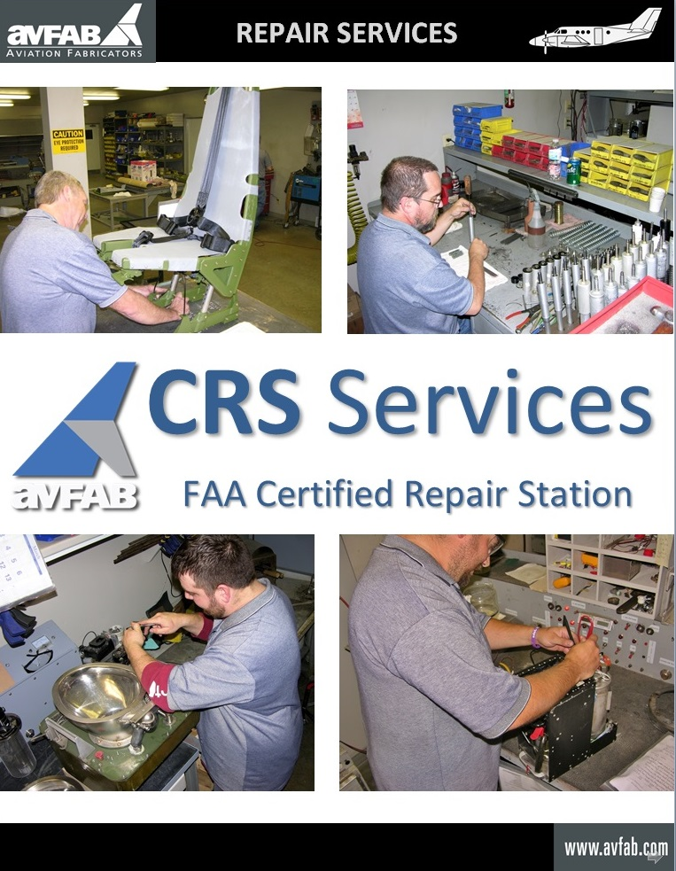 CRS Repair Services Catalog