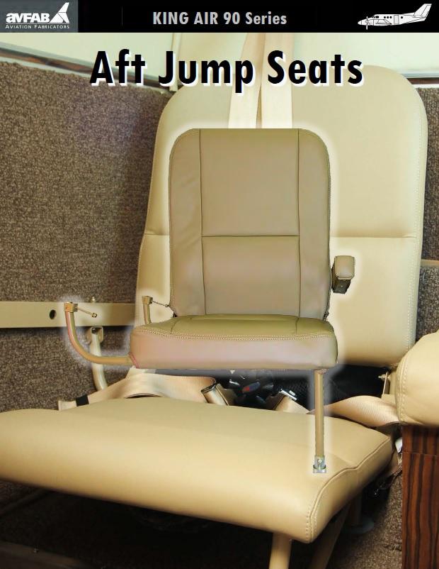King Air Aft Fold Down Jump Seat Kit, RH Single » Aviation Fabricators
