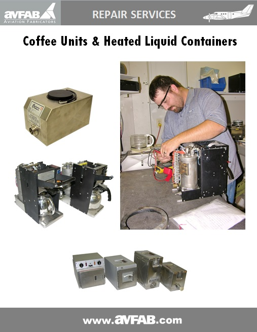 Coffee Maker & Heated Liquid Container Services