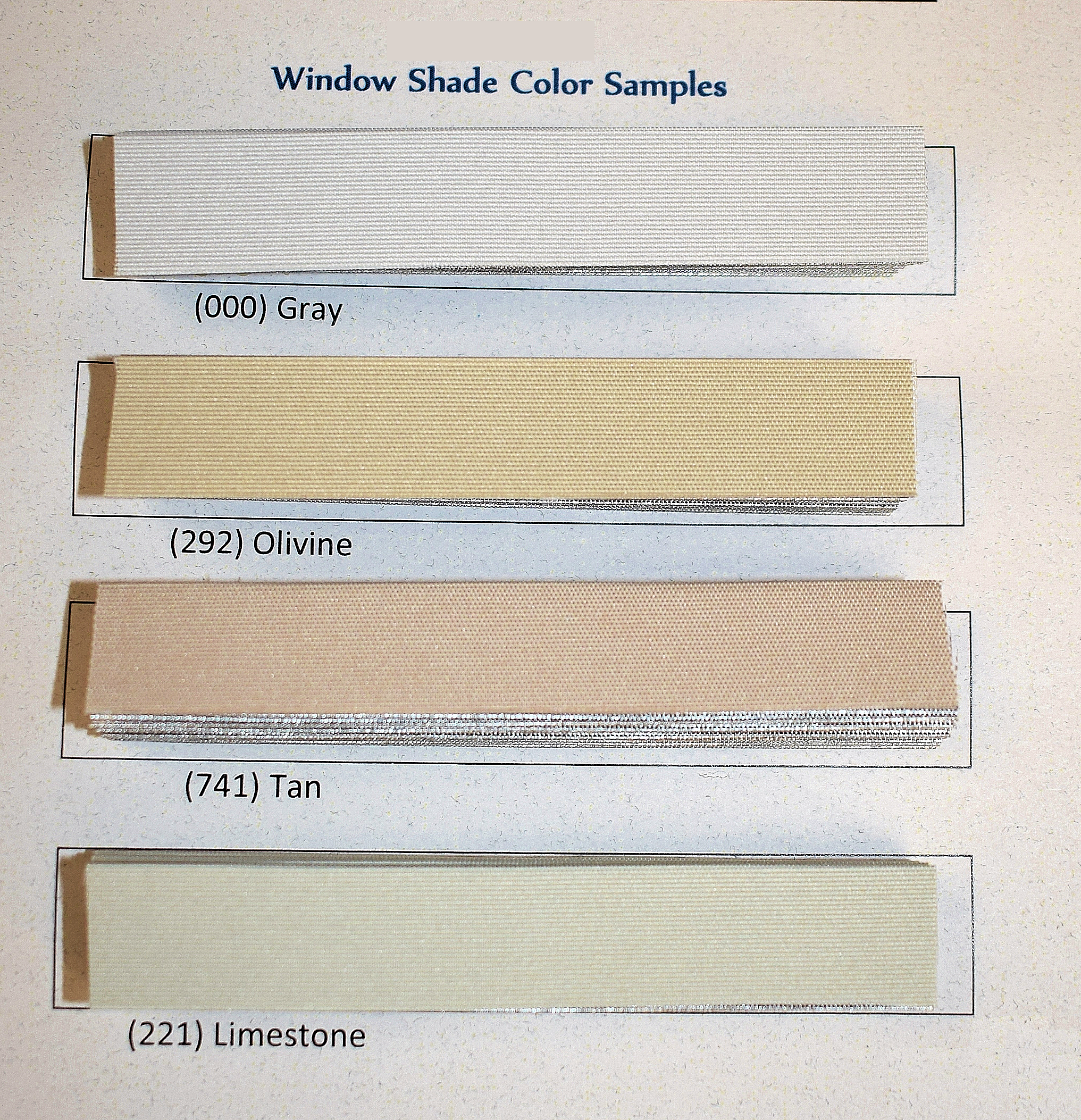 Verosol Pleated Window Shade Replacement Material