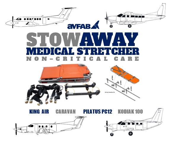 STOWAWAY Medical Stretcher