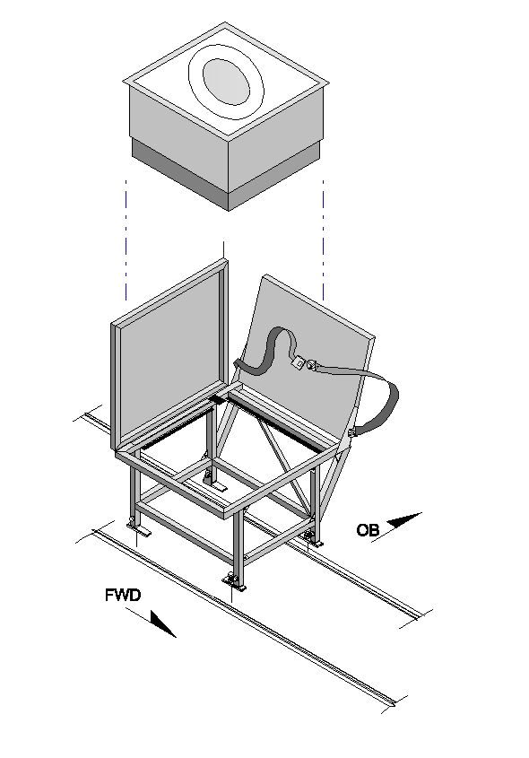Beechjet Side Facing Toilet Seat
