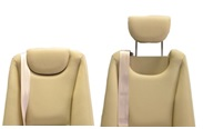 AvFabulous Clear View Hidden Headrests