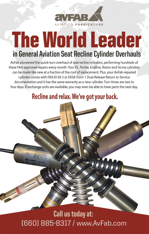 Recline Cylinder Overhaul