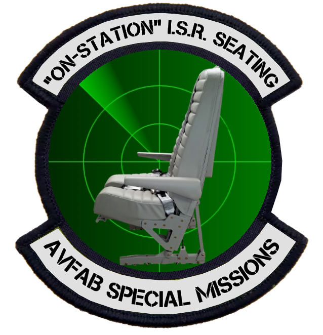 Top Access King Air ISR (Intelligence-Surveillance-Reconnaissance) Special Missions Operator Seat