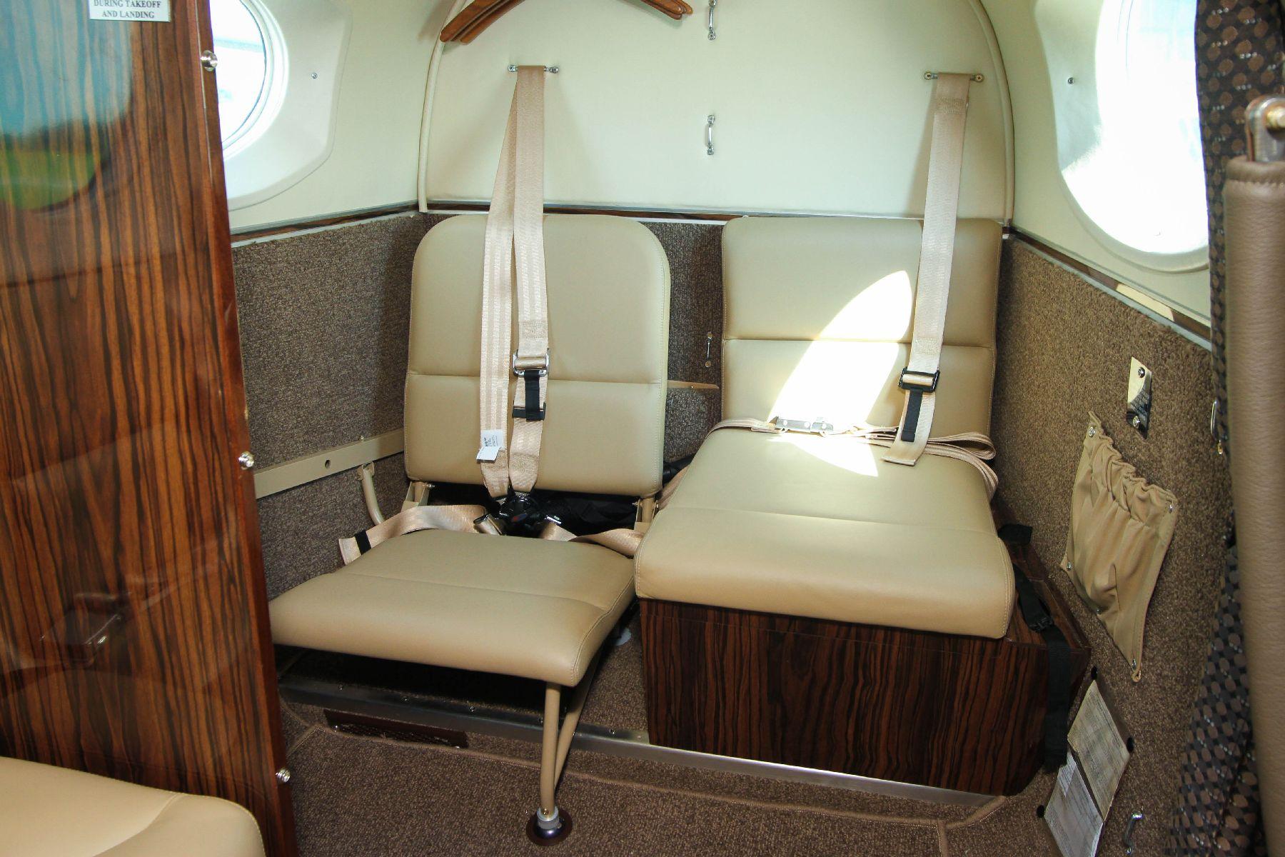 King Air Aft Jump Seat Kit Fold Down Seat Kit Rh Single