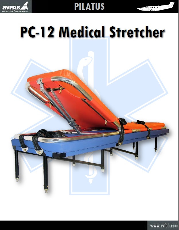 Pilatus PC-12 Medical Stretcher