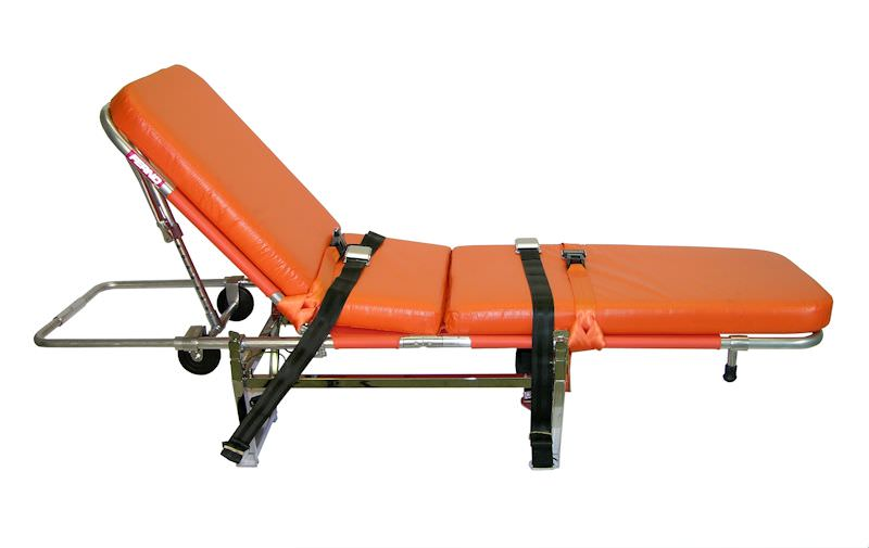 This stretcher kit provides a Beechjet operator with the option of transporting an ill or injured non-critical patient. These stretchers are ideal as an economical alternative for complete Medevac systems for the operator who doesn't need critical care med