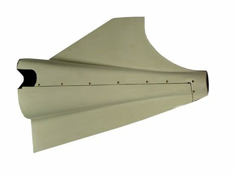 The AvFab carbon fiber (graphite) Cessna 310 Tailcone Stinger is a vast improvement over the OEM Cessna ABS plastic unit and is designed to fit 310P through 310R models. The original Cessna ABS Stinger has a tendency to deform and crack, which are the resu
