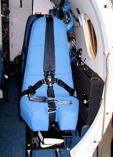 BeechJet ISR Operator Seat
