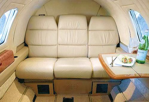 Want to stretch your Citation I or II cabin and give it some real leg-room and breathing room? AvFab has the only FAA approved solution. Our Aft forward-facing couch kit includes everything necessary for installation. Comprehensive installation instruction