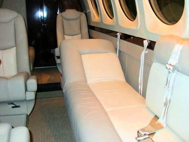King Air 4 Place Divan, RH Recline