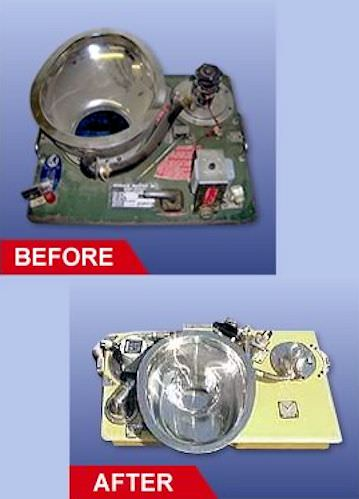 "AvFab has an FAA-approved repair process for most of the Monogram, Weber, Koehler, Alamo and Aircraft Technologies flushing units.  We can even repair component parts like tanks and valves when the repair of the entire flushing unit is not required.  Our repair process brings the units to ""better than new"" condition through the development of many PMA parts used in the process to improve quality and durability at a much lower cost than original parts replacement.  All repaired units come with the SAME WARRANTY AS NEW units! Avfab has an extensive inventory of replacement parts, components and units available for exchange to further improve turn time."