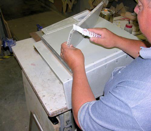Beechcraft Bonanza Baron Composite and Wood Cabinet Shop Services