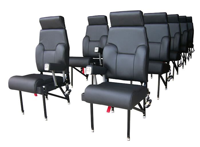 King Air Traveler Airline Style High Density Commuter Seat