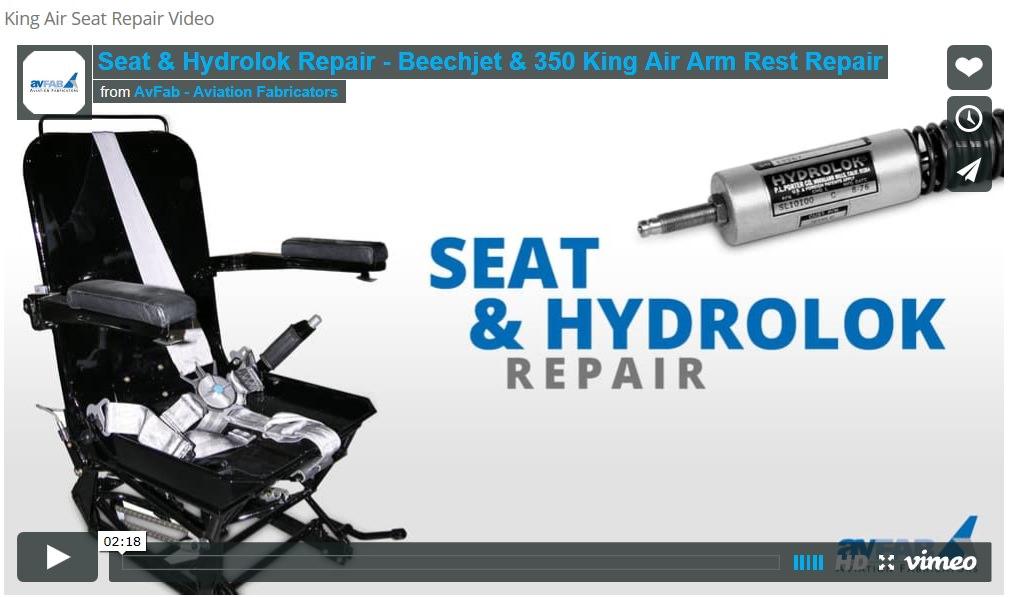 Seat Repair Video