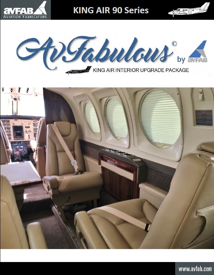 "AvFab's newest offering, the ""AvFabulous Interior Upgrade Package"""