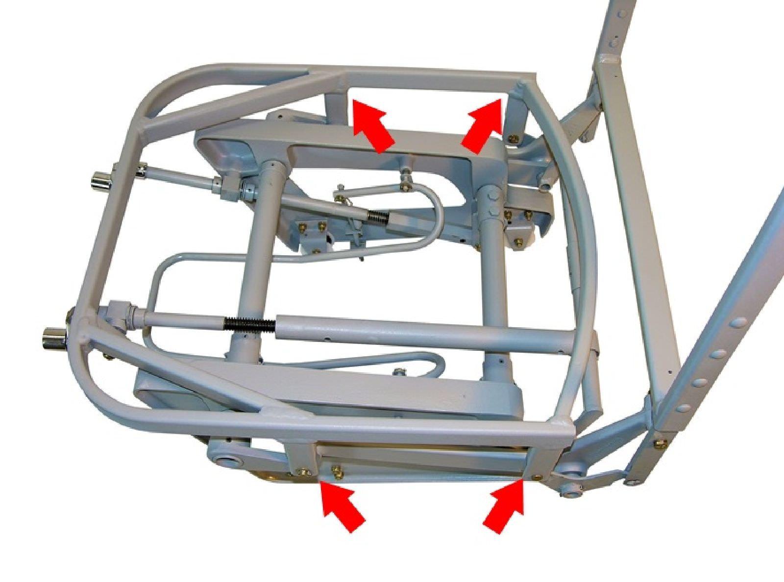 Cessna Seat Bottom Repair
