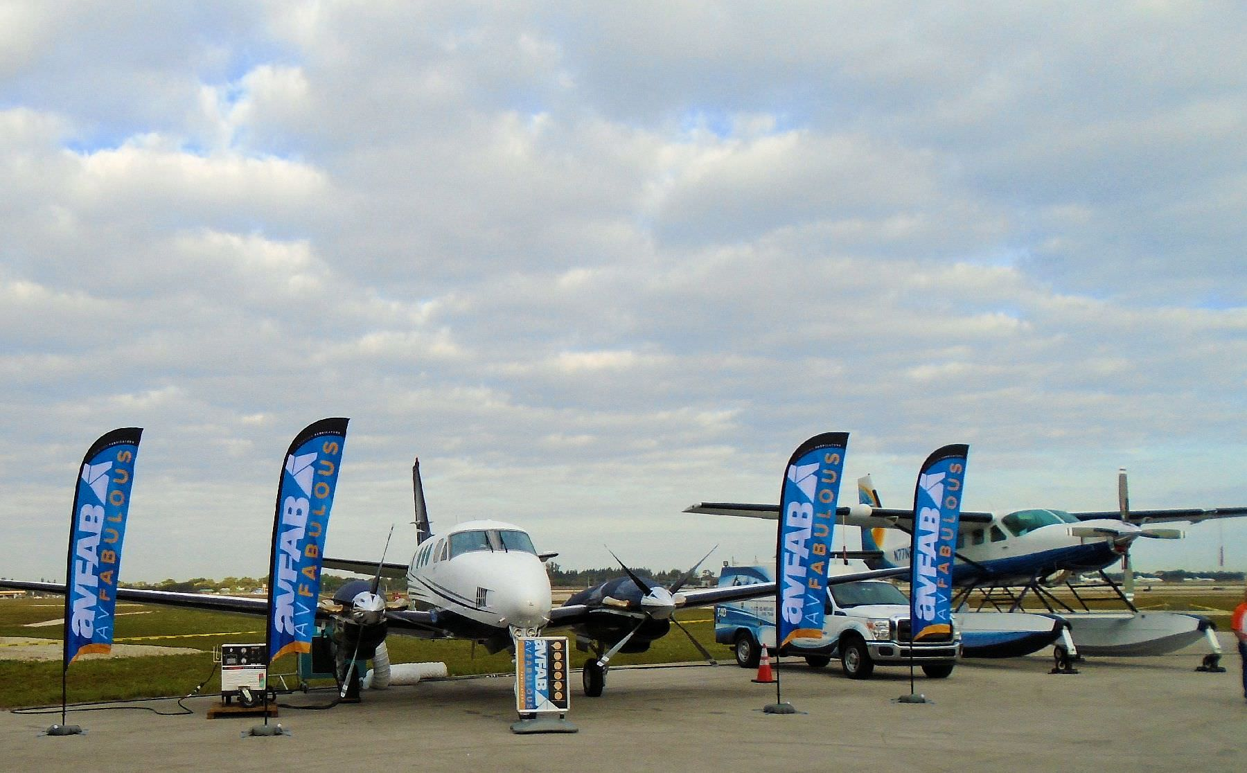 "Our new ""AvFabulous"" King Air 90 demonstrator aircraft will be available for inspection at the following events: